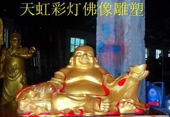 江苏彩灯制作-佛像雕塑