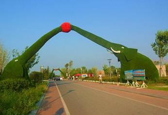 园林景观雕塑-大象