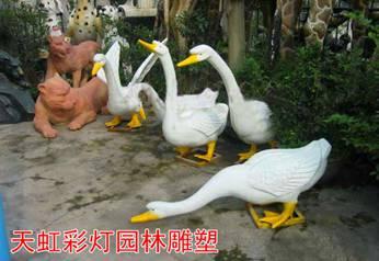 园林景观雕塑-白天鹅