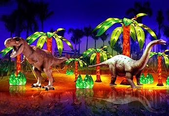 园林景观雕塑-恐龙