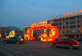 大型彩灯制作展示