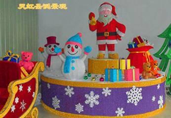 圣诞景观制作
