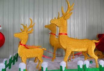 彩灯制作麋鹿