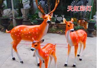 景观雕塑-麋鹿