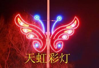彩灯-城市灯杆亮化